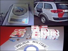 POLÍCIA MILITAR DE CHAVANTES APREENDE MACONHA NO IRAPÉ