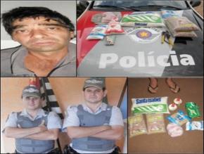 POLÍCIA MILITAR PRENDE AUTOR DE FURTO EM IPAUSSU