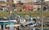 TORNADO CAUSOU DESTRUIÇÃO EM TAQUARITUBA, DIZ METEROLOGIA