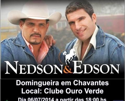 DOMINGUEIRA EM CHAVANTES NO CLUBE OURO VERDE DIA 06/07/2014