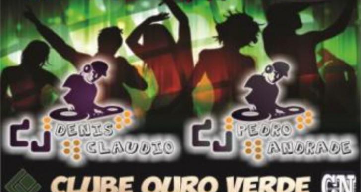 BALADA EM DOSE DUPLA NO CLUBE OURO VERDE DE CHAVANTES NO DIA 19/07/2014