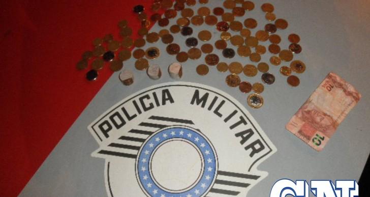 POLICIA MILITAR PRENDE DOIS INDIVÍDUOS POR FURTAREM UNIÃO DE TINTAS EM OURINHOS
