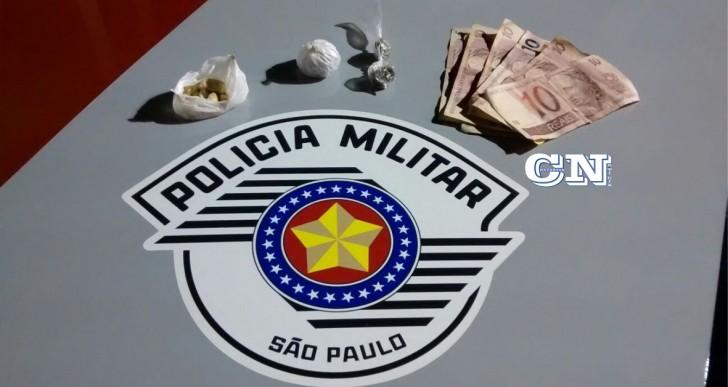 MENOR É APREENDIDO POR  TRÁFICO DE DROGAS PELA POLICIA MILITAR DE OURINHOS