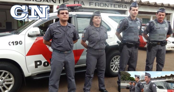 NOVO UNIFORME DA POLÍCIA MILITAR