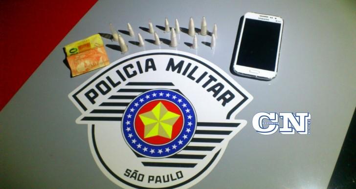 INDIVÍDUO É PRESO PELA POLICIA MILITAR DE OURINHOS POR TRÁFICO DE DROGAS