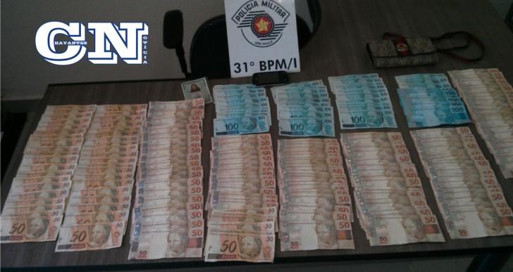 POLICIA MILITAR DE OURINHOS APREENDE R$11.900,00 NA VILA MARCANTE REFERENTE À VENDA DE 1 kg DE COCAÍNA
