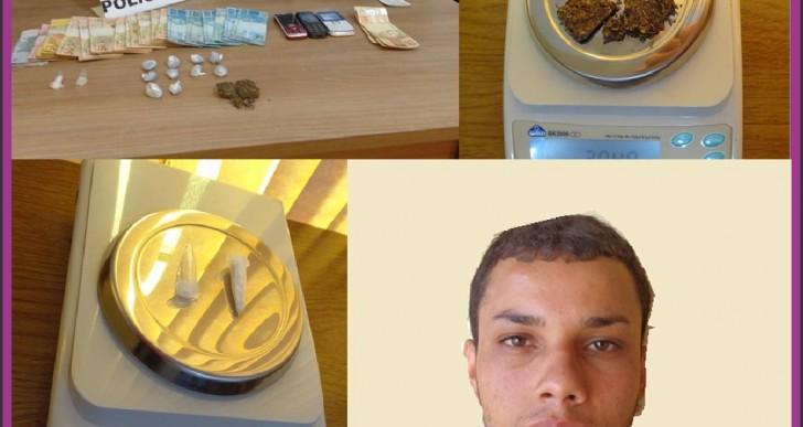 DISE DE OURINHOS PRENDE INDIVÍDUO NO TRÁFICO DE DROGAS EM MANDURI