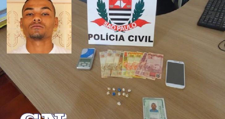 DISE Realiza Mais Uma Prisão No Trafico De Drogas Na Vila São Luiz Em Ourinhos.
