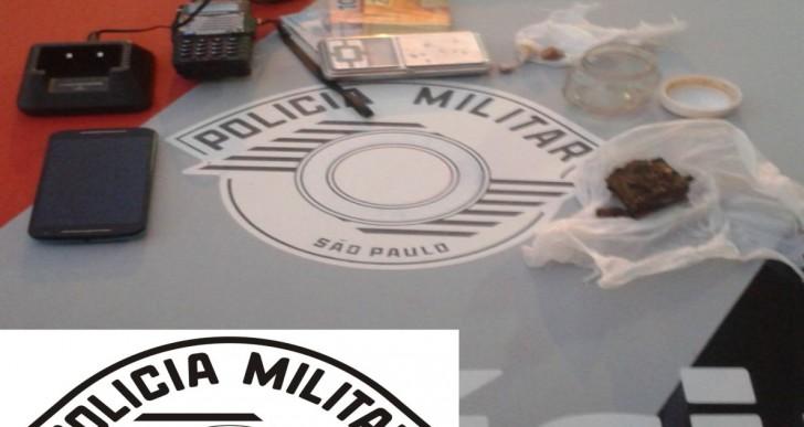 POLÍCIA MILITAR DE CHAVANTES APREENDE MENOR POR TRÁFICO DE DROGAS NO BAIRRO INOCOOP