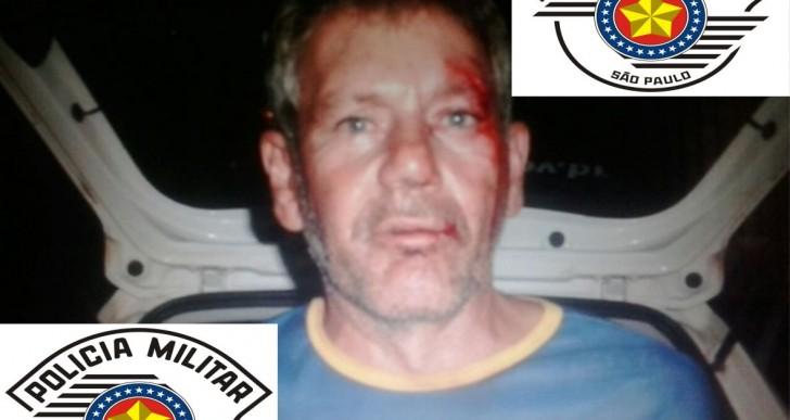 POLÍCIA MILITAR PRENDE INDIVÍDUO POR TENTATIVA DE HOMICÍDIO EM SALTO GRANDE