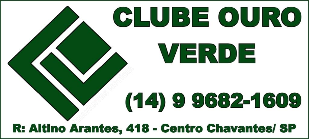 Slogan Clube Ouro Verde Principal