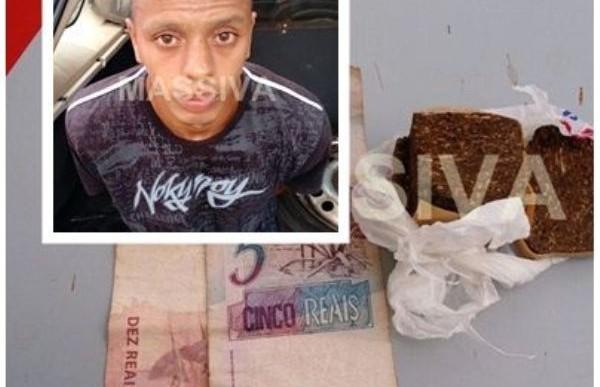 MORADOR DE RIBEIRÃO DO SUL É  PRESO NO TRÁFICO DE DROGAS EM OURINHOS