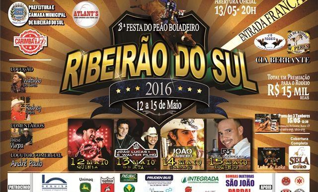 XXIII FESTA DO PEÃO DE BOIADEIRO DE RIBEIRÃO DO SUL