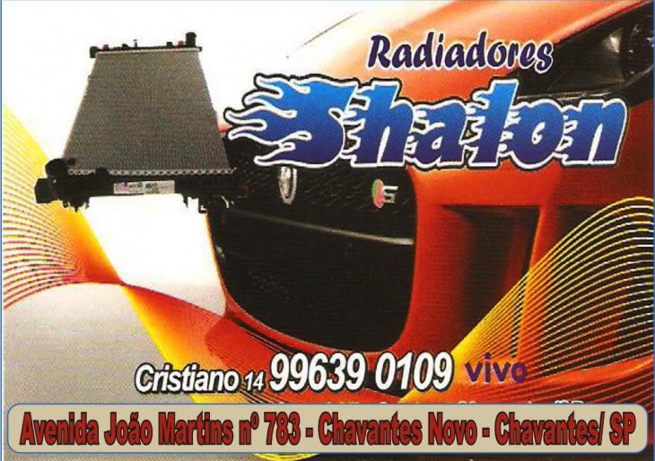 RADIADORES SHALON – VENDAS E MANUTENÇÕES EM TODOS OS TIPOS DE RADIADORES