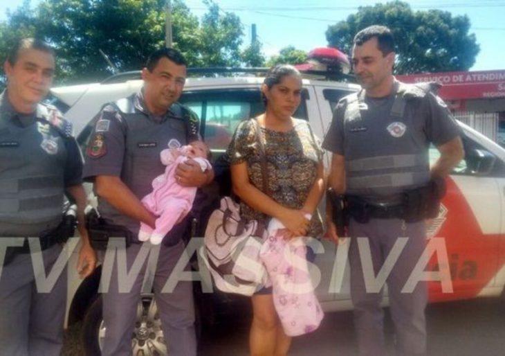 POLICIAL MILITAR SALVA VIDA DE RECEM NASCIDO APÓS AFOGAR COM LEITE MATERNO EM CANITAR