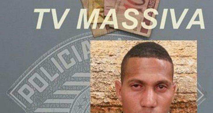POLÍCIA MILITAR PRENDE AUTOR DE ROUBO Á CONSULTÓRIO DENTÁRIO EM OURINHOS.