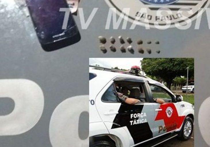 FORÇA TÁTICA APREENDE ADOLESCENTE NO TRÁFICO PELO JD ITAMARATI.