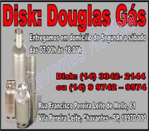 Douglas Gás capa