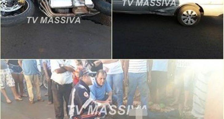 VIGILANTE MORRE EM ACIDENTE COM MOTO EM SALTO GRANDE.