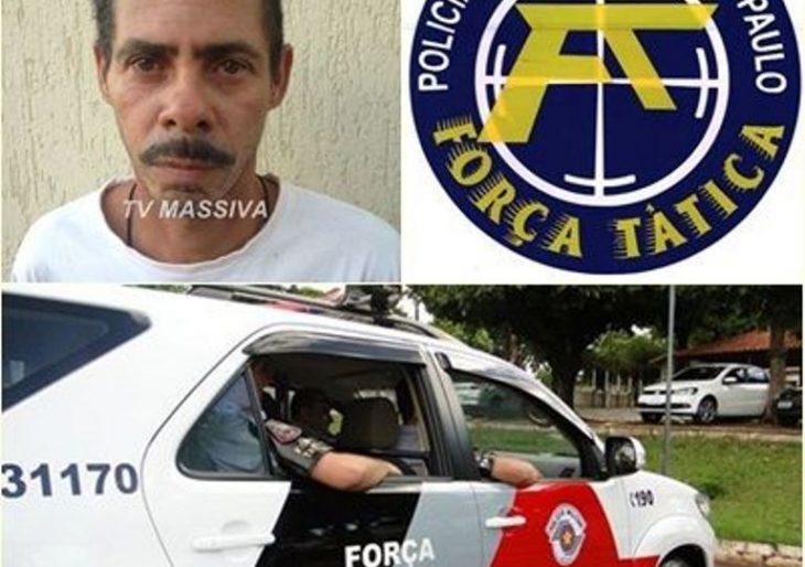 FORÇA TÁTICA CAPTURA PROCURADO DA JUSTIÇA NO CENTRO DE OURINHOS