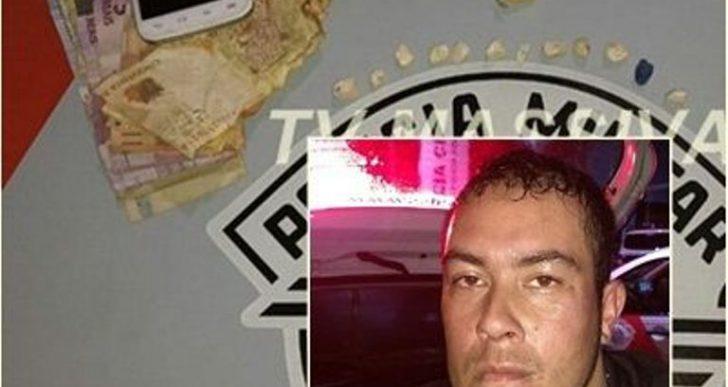 POLÍCIA MILITAR PRENDE MAIS UM NO TRÁFICO NA VILA MUSA EM OURINHOS.