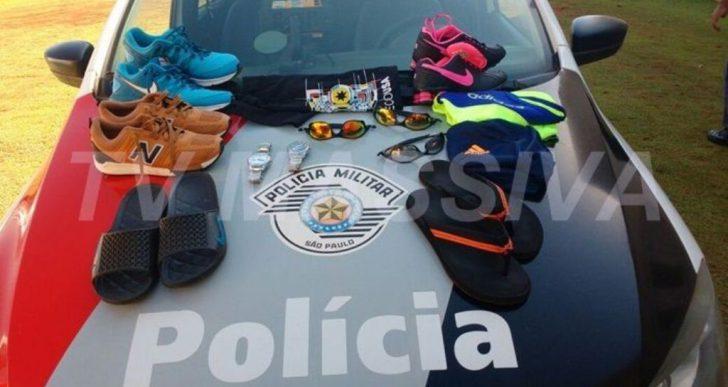 POLÍCIA MILITAR ELUCIDA FURTOS E APREENDE MENORES EM CANITAR