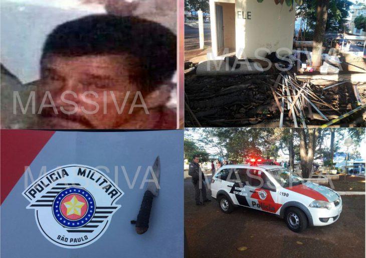 SUPOSTO HOMICÍDIO AGITA A TARDE DE DOMINGO 06/08/2017 EM CHAVANTES