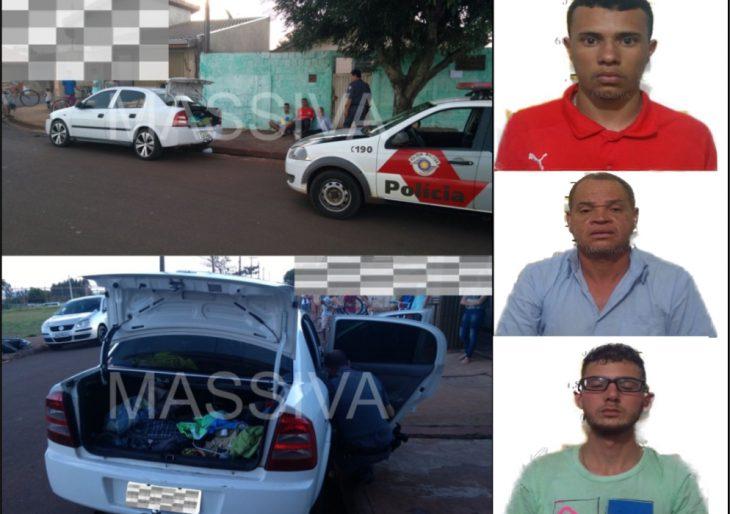 POLÍCIA MILITAR DE IPAUSSU PRENDE TRÊS INDIVÍDUOS APÓS PASSAREM NOTAS FALSAS NOS COMERCIOS DA REGIÃO