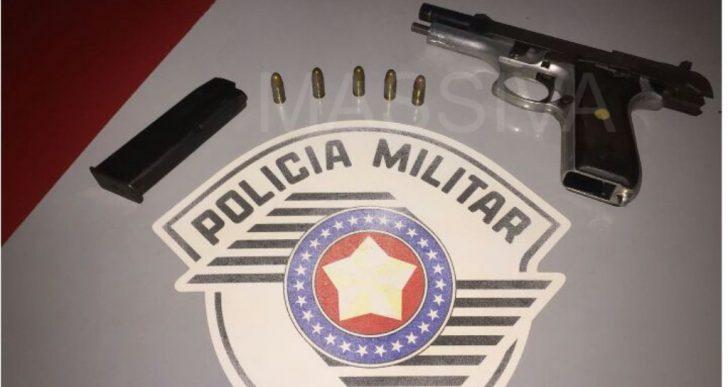 FORÇA TÁTICA DE OURINHOS PRENDE INDIVÍDUO COM ARMA DE FOGO EM CHAVANTES