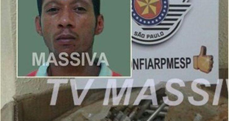 POLÍCIA MILITAR PRENDE INDIVÍDUO APÓS FURTAR O PRÓPRIO LOCAL DE TRABALHO EM RIBEIRÃO DO SUL.