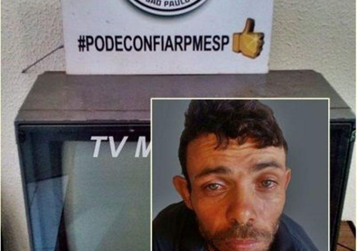 POLÍCIA MILITAR PRENDE INDIVÍDUO APÓS FURTAR RESIDÊNCIA NA VILA MUSA