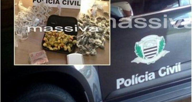 DISE APREENDE MENOR NO TRÁFICO DE DROGAS EM CANITAR