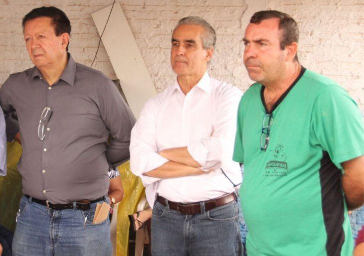 """VICE-PREFEITO DOUGLAS GÁS """"TRAZ"""" EM CHAVANTES DEPUTADOS FEDERAL E ESTADUAL E SOLICITA APOIO PARA A """"SAÚDE DO MUNICÍPIO"""""""