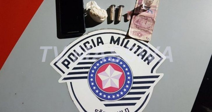 POLÍCIA MILITAR PRENDE INDIVÍDUO COM COCAÍNA NA NOVA OURINHOS.