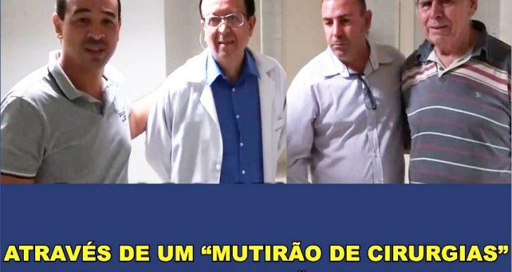 """ATRAVÉS DE UM """"MUTIRÃO DE CIRURGIAS"""" DEZOITO PESSOAS FORAM OPERADAS EM CHAVANTES"""