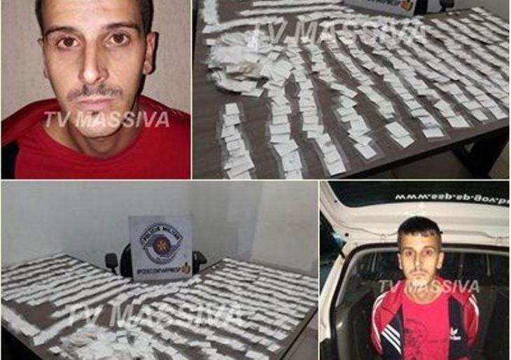 POLÍCIA MILITAR PRENDE VULGO CANARINHO COM 898 PAPELOTES DE COCAÍNA NA RODOVIÁRIA EM OURINHOS.