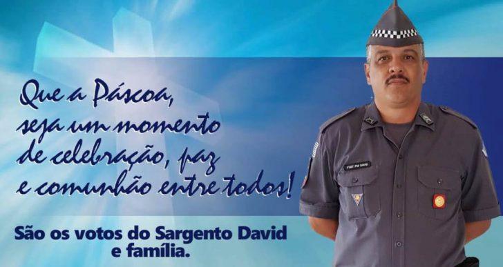 POLICIAIS MILITARES DE CHAVANTES E SALTO GRANDE FAZEM DISTRIBUIÇÕES  DE OVOS DA PÁSCOA AOS IDOSOS