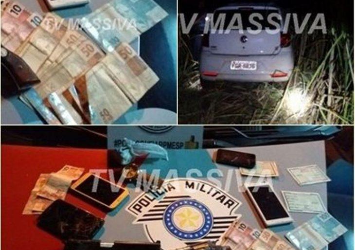 POLÍCIA MILITAR APREENDE TRÊS MENORES EM CHAVANTES APÓS CRIMES DE ROUBO.