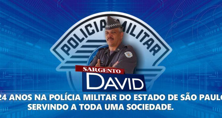 SARGENTO DAVID COMPLETA 24 ANOS NA POLÍCIA MILITAR DE SÃO PAULO SERVINDO A TODA UMA SOCIEDADE.