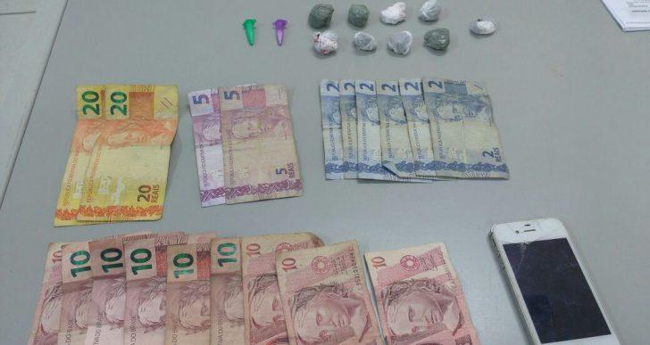 POLÍCIA MILITAR DE IPAUSSU SURPREENDE JOVEM DE 17 ANOS NO TRÁFICO DE DROGAS