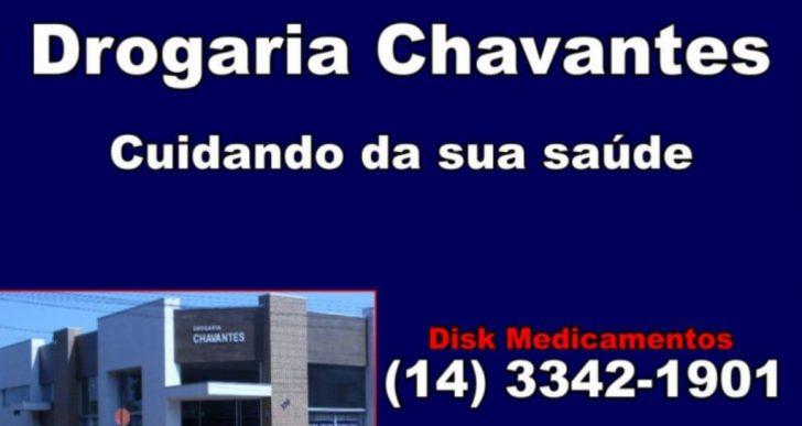 A DROGARIA CHAVANTES ATENDE VOCÊ COM DISK ENTREGA DE SEGUNDAA SÁBADO DAS 08hs ÀS 19hs