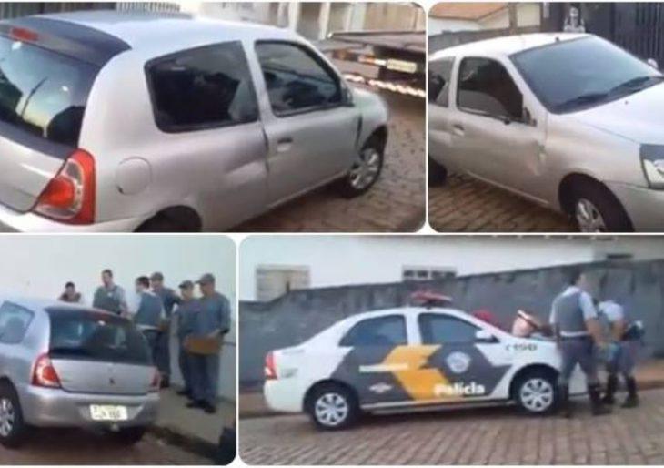 POLICIAIS RODOVIÁRIOS SÃO ATROPELADOS NA SP-270.