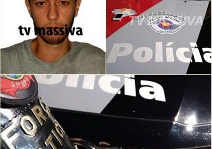 FORÇA TÁTICA PRENDE INDIVÍDUO NO TRÁFICO NA VILA ODILON