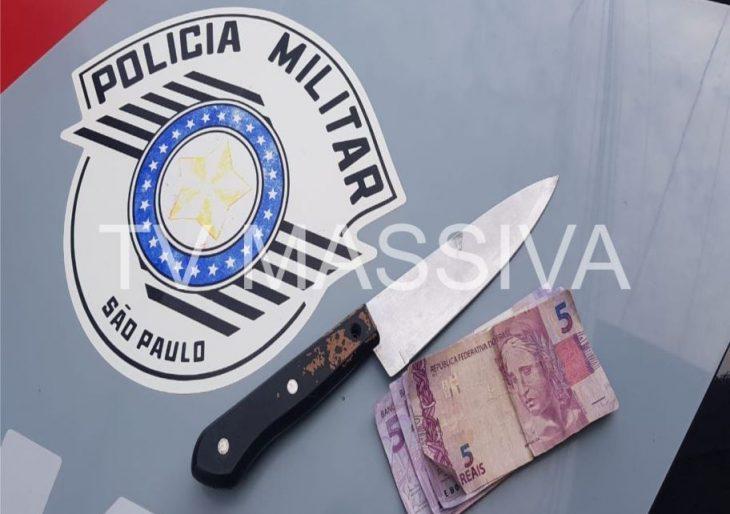 POLÍCIA MILITAR DETÉM MENOR INFRATOR APÓS ROUBAR LOJA NO CENTRO DE CHAVANTES
