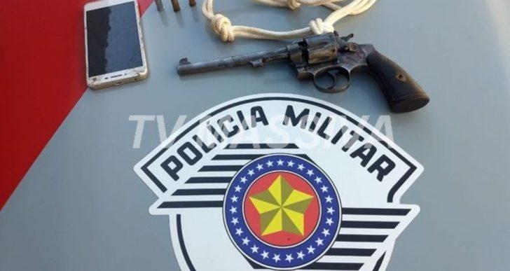 POLÍCIA MILITAR EVITA ASSALTO A MÃO ARMADA EM CANITAR