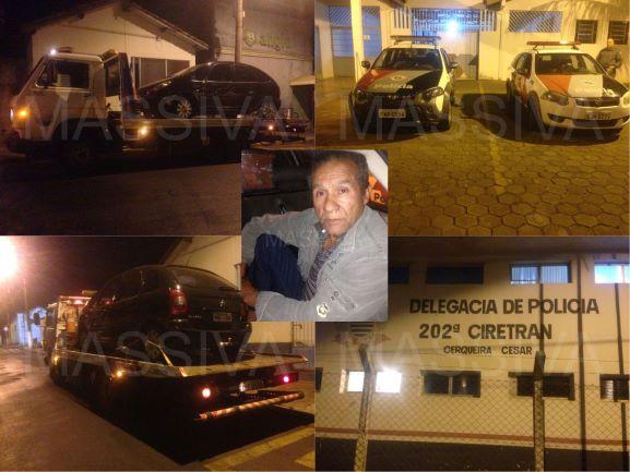 ATRAVÉS DA FORÇA CONJUNTA PM DA REGIÃO PRENDE INDIVÍDUO APÓS FURTAR VEÍCULO NA CIDADE DE AVARÉ/SP