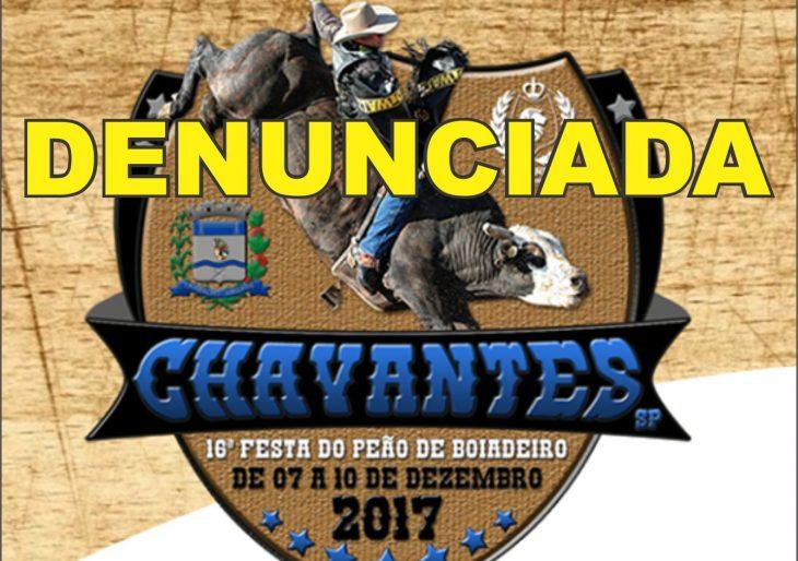 A 16ª FESTA DO PEÃO DE BOIADEIRO DE CHAVANTES É DENUNCIADA NO MINISTÉRIO PÚBLICO POR SUPOSTAS IRREGULARIDADES