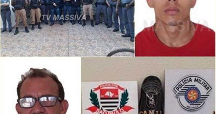 OPERAÇÃO CONJUNTA DA POLICIA CIVIL E MILITAR, PRENDEM DOIS EM SALTO GRANDE.