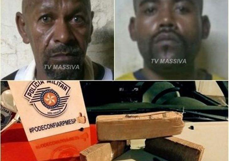 PAI E FILHO PRA TRANCA – EQUIPES DE FORÇA TÁTICA ESTOURAM MOCÓ DAS DROGAS EM IPAUSSU.