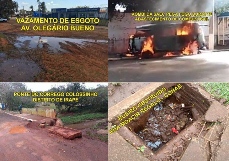VEREADOR HILTON APONTA DIVERSAS IRREGULARIDADES NO MUNICÍPIO DE CHAVANTES E COBRA POR PROVIDÊNCIAS DO PREFEITO BURGUINHA